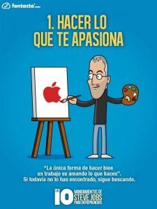 Los 10 Mandamientos de Steve Jobs 1