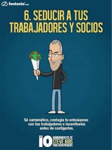 Los 10 Mandamientos de Steve Jobs 6