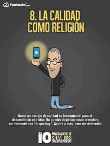 Los 10 Mandamientos de Steve Jobs 8