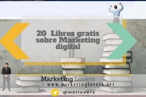 20   Libros gratis sobre Marketing digital