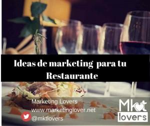 Ideas de marketing para tu restaurante