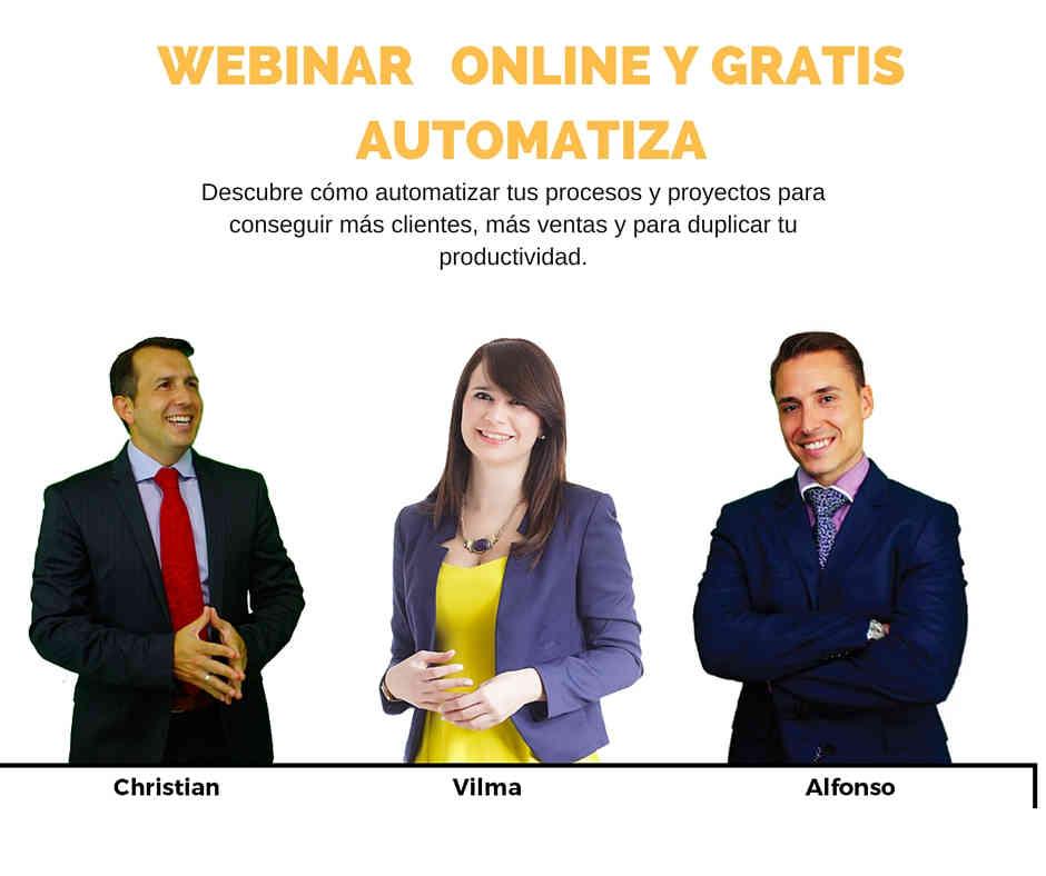 WEBINAR mercadologos y emprendedores..