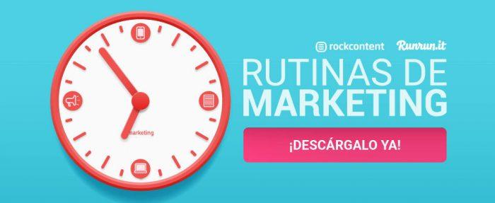 rutinas de marketing