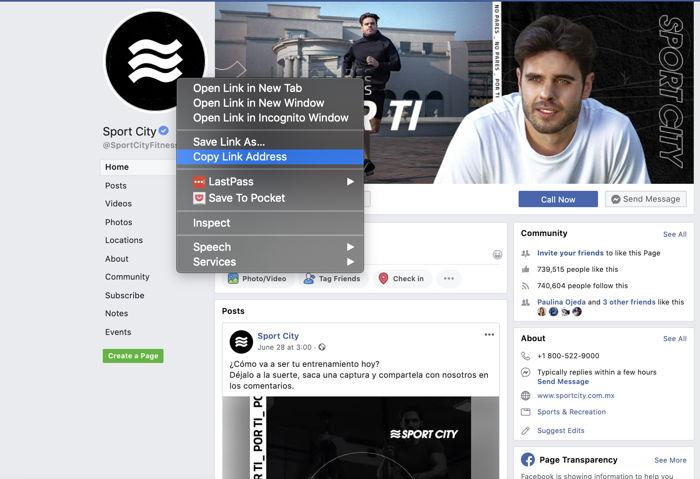facebook trafico web