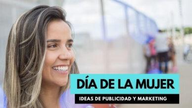 marketing y publicidad para el día de la mujer