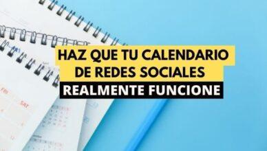 calendario de social media