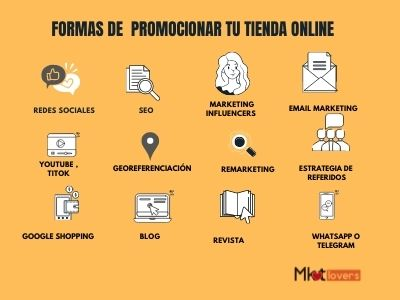 promocionar tienda online