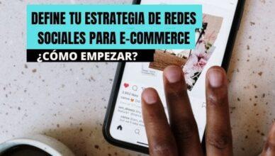 estrategia de redes sociales ecommerce